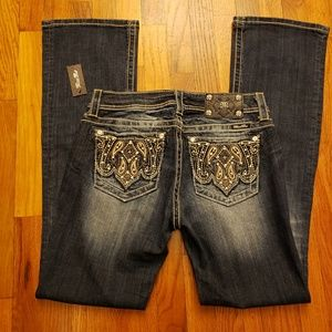 Miss Me Women's Boot Bootcut Jeans Size 30 NWT
